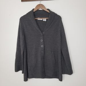 White Stag Dark Gray knitted Sweater